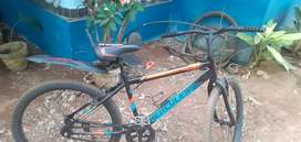 It's in good condition one month used and tyres r also good