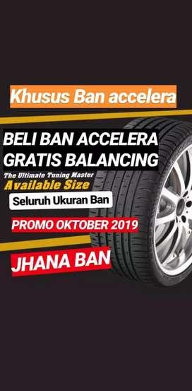 Promoo beli ban Accelera gratis balance