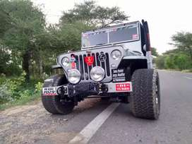 Newly modified open Jeeps