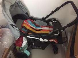Babyhug stroller/ trolley