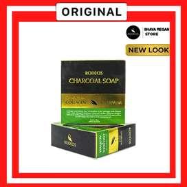 Rodeos Bamboo Charcoal Soap   Sabun Muka   Sabun Wajah   Sabun Jerawat