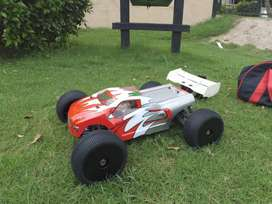 Rc car caster racing 1/8 brushless truggy