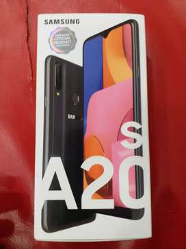 Samsung A20s just box open