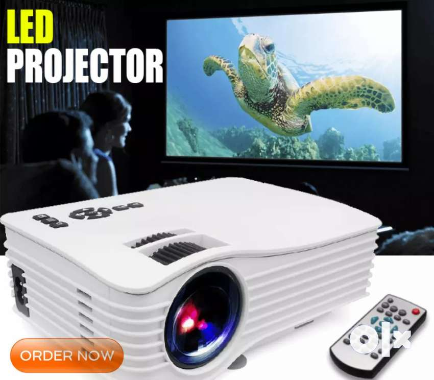 LOW PRICE BEST HOME CINEMA HD PROJECTOR WATCH 2020 IPL A BIG SCREEN 0