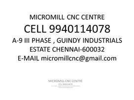 cnc milling machine setter
