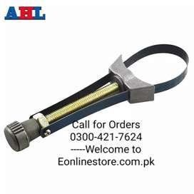 Car Auto Oil Filter Removal Tool Cap Spanner Strap Wrench 60mm To 120m