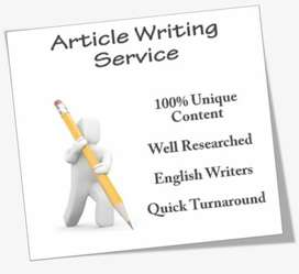 Thesis Writing, Journal article, or assignment, Proofreading