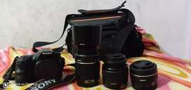 Sony A58 just 1 year old and with available will all accessories