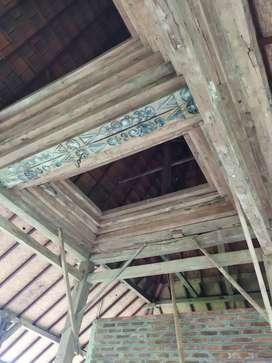 Dijual murah Joglo kayu jati antik sangat klasik, Jati tua, mewah