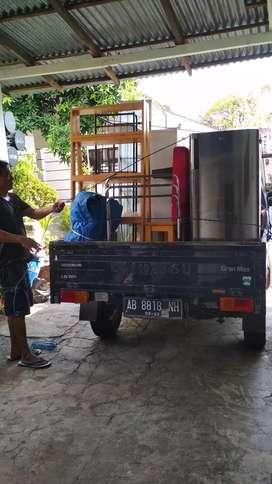 Jasa angkut barang Lintas kota Sumowono-Jogja