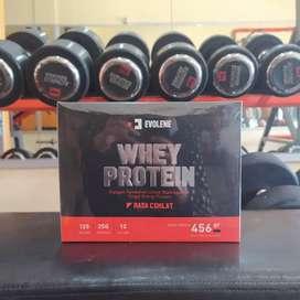 Evolene Whey Protein 456 gram 12 sachet gr Evo