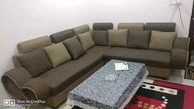 Just 1 year old sofa...very less used, made-up of Sagon wood