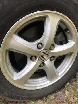 Damage Or Lost All CARS GENUINE ALLOY WHEEL AVAIL ONE OR TWO PIECE
