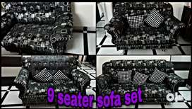 9 seater sofa set available for sale