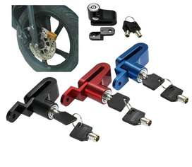 Gembok Cakram Sepeda Disc Brake Lock Baja Kunci Anti Maling Solo Micro