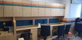 800 to 2500 sqft fully furnished/Semi Furnishesd /Unfurnished office