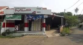 Dijual RUMAH TOKO/ RUKO STRATEGIS di perumahan padat penduduk