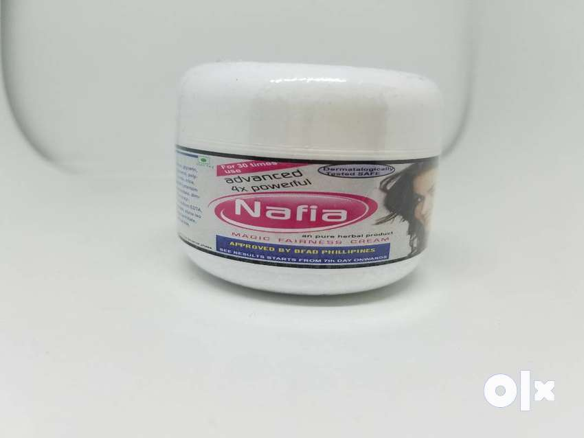 nafia magic fairness cream 4x advanced 32 shades fairness in 15 days 0