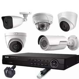 CCTV camera installation