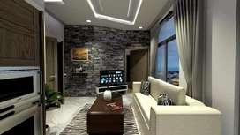 Luxurious stylish installment apartments for families