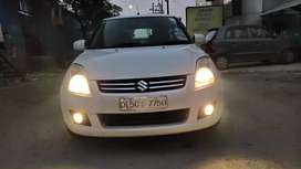 Swift Dzire VXI Aug'2010 with Hi Fi Music & Video System