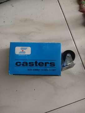 Roda casters (lemari/etalase) TRIPLE S 40MM