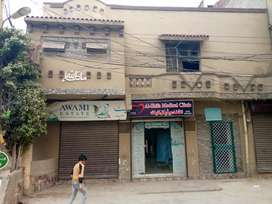 Golden Shop Is Available for rent near to Lahore Airport Bhatta Chowk