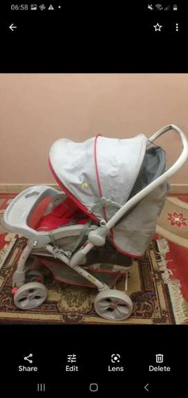 6 month use imported prams
