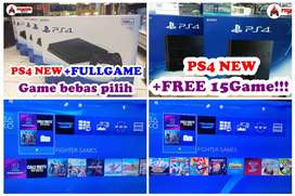 [NEW] PS4 1TB +FULLGAMES BEBAS PILIH PRO 4K SLIM FAT