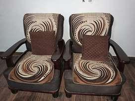 5 seater teak sofa set