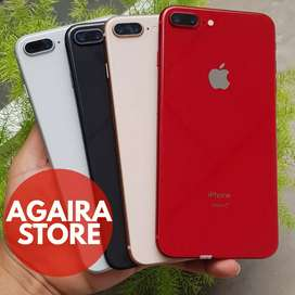 iPhone 8 plus 256GB Mulus Fullset Original top mantap
