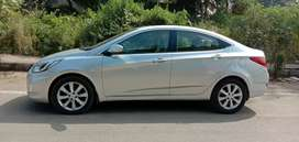 Hyundai Fluidic Verna 2013 Diesel 78628 Km Driven , Automatic