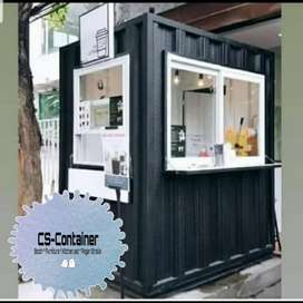 Booth container custom design #13