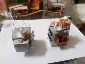Miniatur Gerobak pikul Cuanki