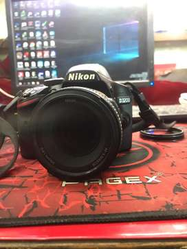 Nikon d3200 with 50mm prime lens worth 12000rs in brand new condition
