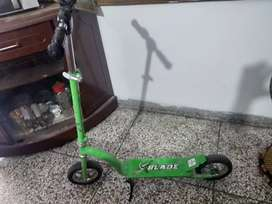Green color Scooty