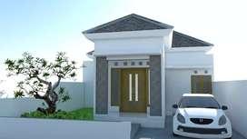 Dijual 3 unit rumah siap bangun di Sumberharjo Prambanan Sleman
