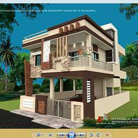 Kankarbagh 35feet road commercial to residential house