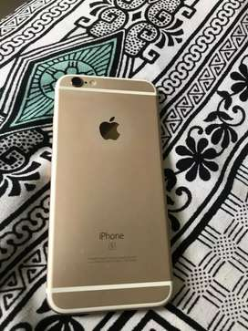 I phone 6S. 64 GB , gold colour