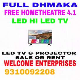 BRAND NEW IMPORT 42 SMART LED TV FREE 4.1 HOMETHEATRE