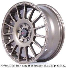 ARROW JD803 HSR R16X7 H8X100-114,3 ET45 SMBRZ