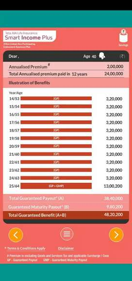 Investment Plans with 100% Assured Returns