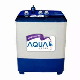 Mesin cuci 2 tabung 7 kg Sanyo Aqua QW-751/781XT