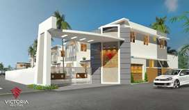 Luxurious 3 BHK villa for sale in palakkad