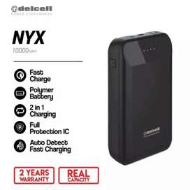 Delcell NYX Small Fast Charging 10.000 mah
