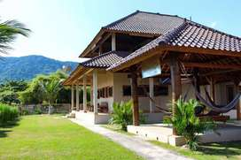 Villa Cantik di Area Surfing di Pantai Yoyo's Sekongkang Sumbawa Barat