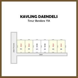 Jl. Daendels, Pleret, Luasan Ideal Harga Spesial: 1 Jutaan