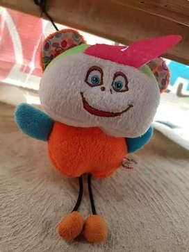Boneka mini badut lucu ex hadiah