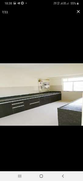3BHK semi furnished with 2 terraces and double car park for rent