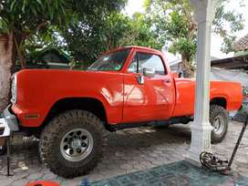 Dodge pick up D200 mantap antik klasik
